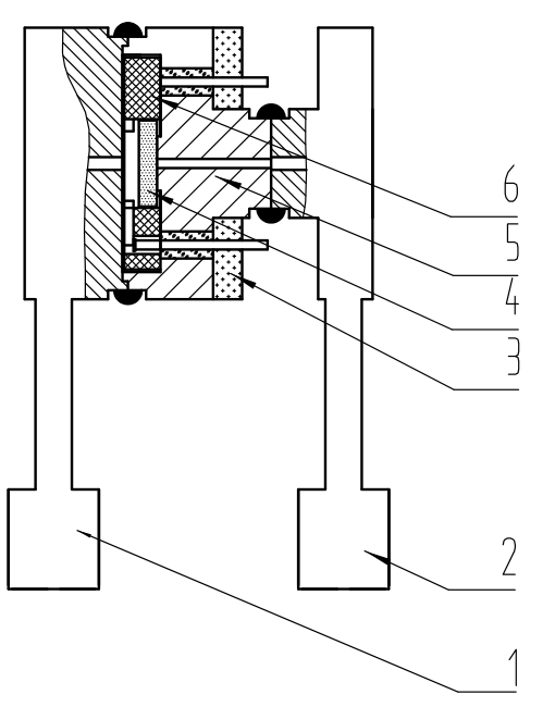 PC90D单晶硅差压传感器基芯部件