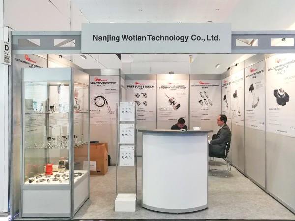 沃天赴德国工业展览会