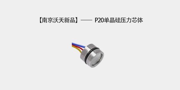 南京沃天新品——P20单晶硅压力芯体