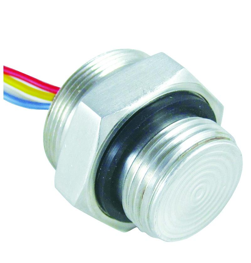 螺纹平膜压力传感器