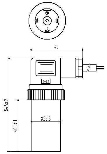 PCM300T高温型压力变送器大赫斯曼