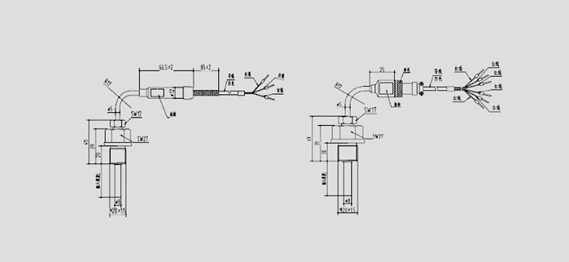 PCT130L双铂电阻温度传感器
