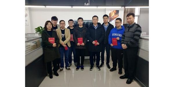 沃天举行2021年技术部师徒结业仪式