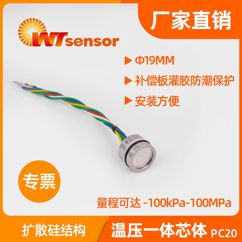 PC20温压一体化芯体 (Φ19×14mm)