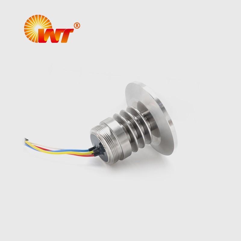 卡箍平膜压力传感器 PC12K