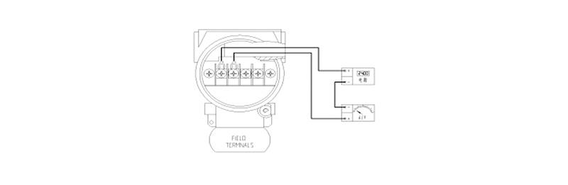 液位变送器接线端子面