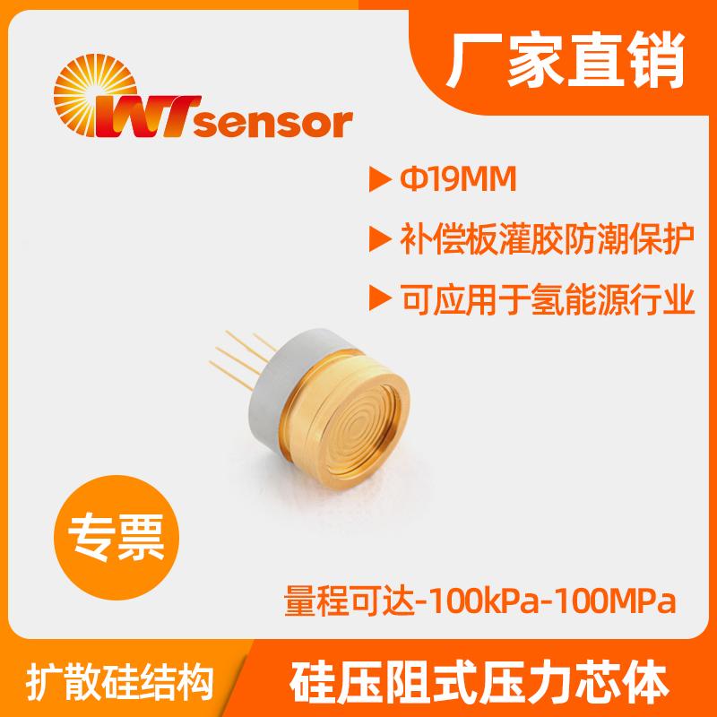 PC10AU(Φ19×14mm)硅压阻式压力芯体